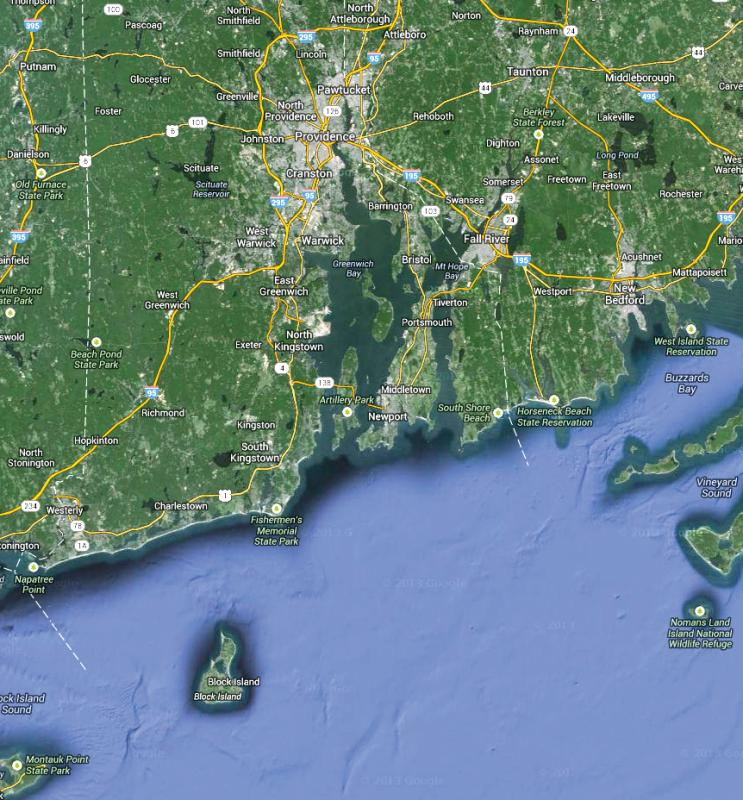 Block Island: Interstate Announces New Route From Fall River