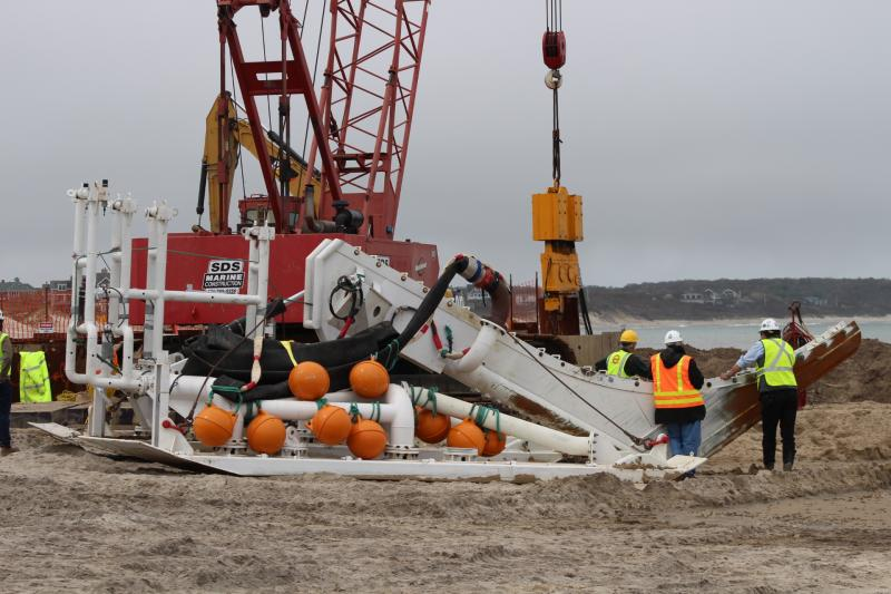 Deepwater Wind Connects Its Cable Block Island Times