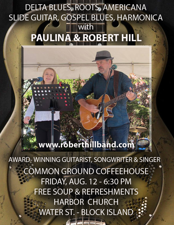 Delta Blues Slide Guitar at Coffeehouse August 12 | Block