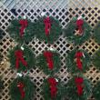 Undecorated wreaths